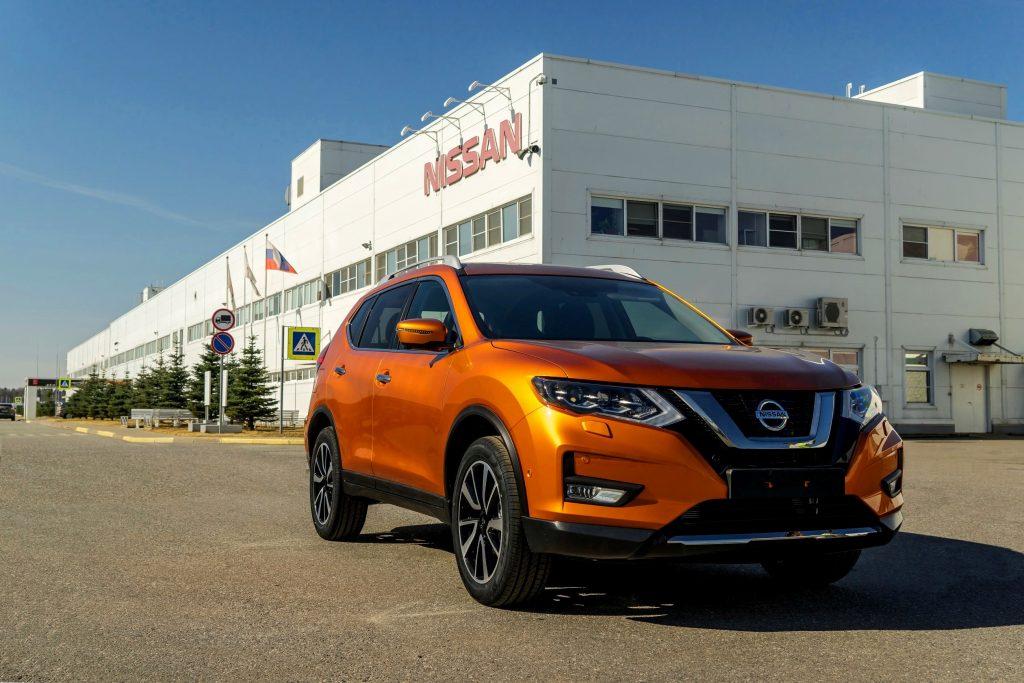 обновлённого Nissan X-Trail
