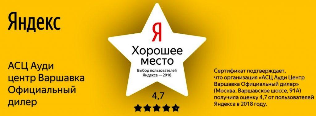выбор пользователей Яндекса 2018